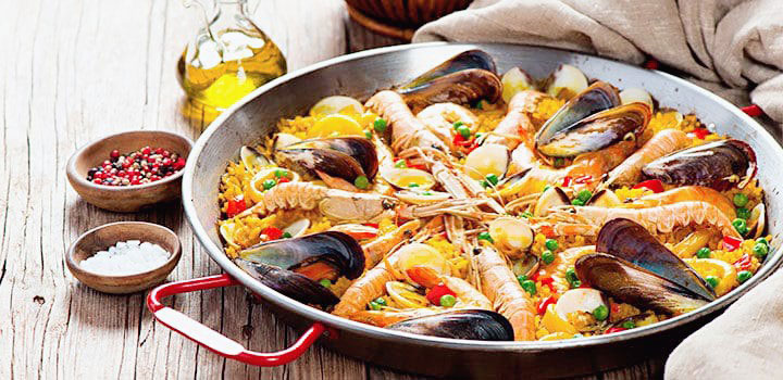 como-preparar-paella-de-mariscos