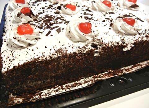 cómo preparar torta brownie