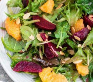 Cómo preparar ensalada de remolacha y naranja