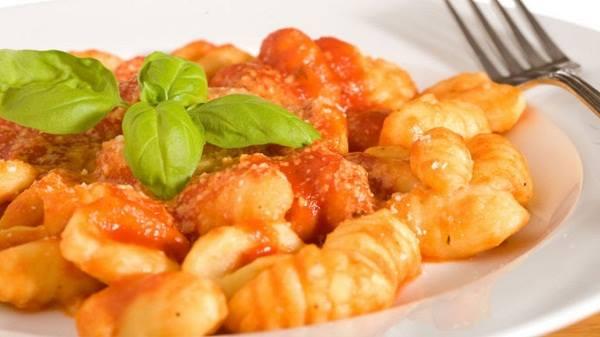 ñoquis de tomate