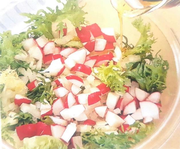 Receta de ensalada de pollo y escarola