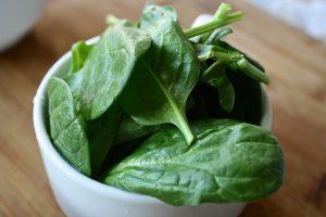 Receta de ensalada de espinaca y rúcula