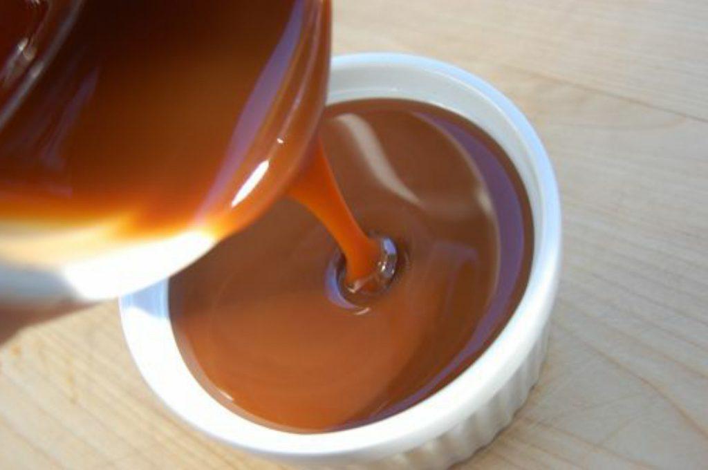 salsa de dulce de leche